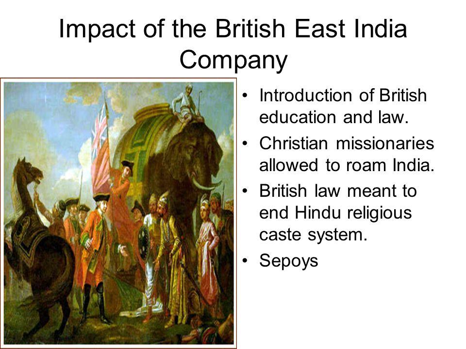 impact of british education in india