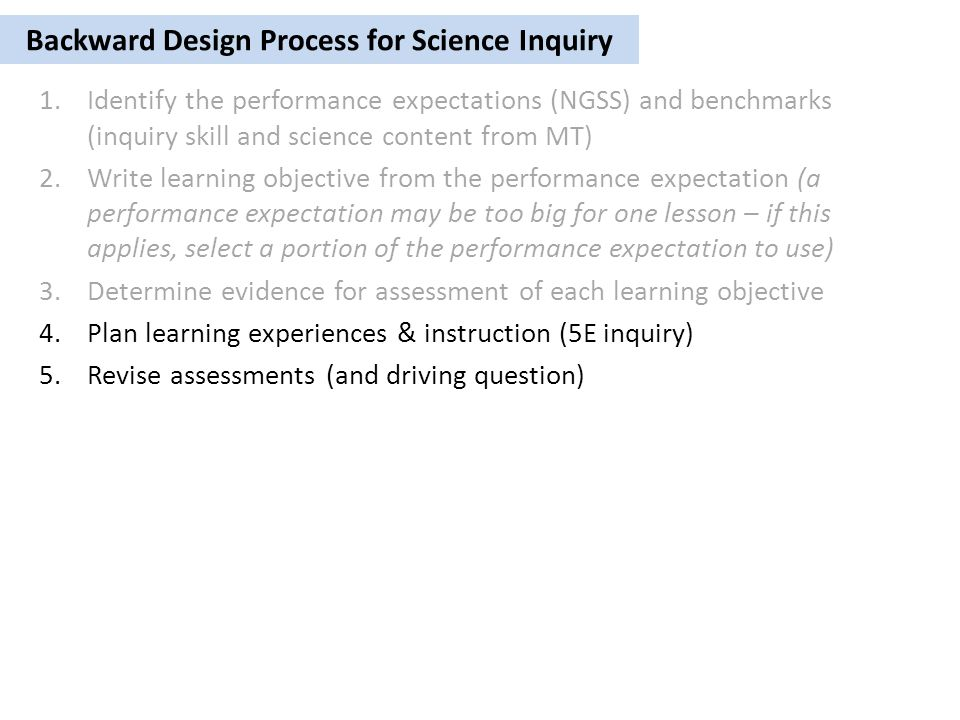 5e Model Of Inquiry Instruction Ppt Video Online Download