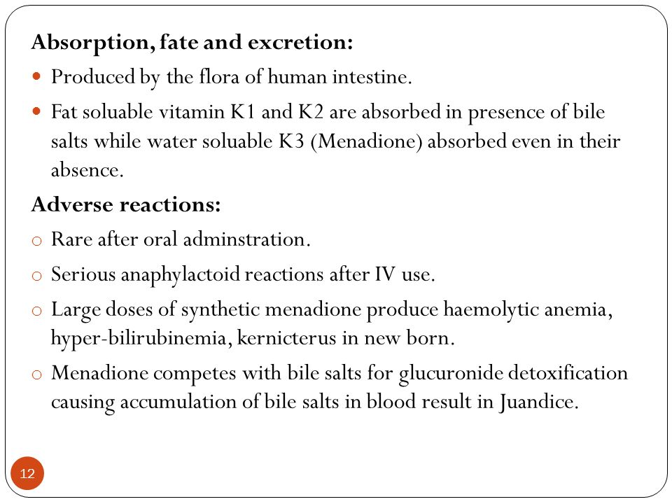 Absorption, fate and excretion: