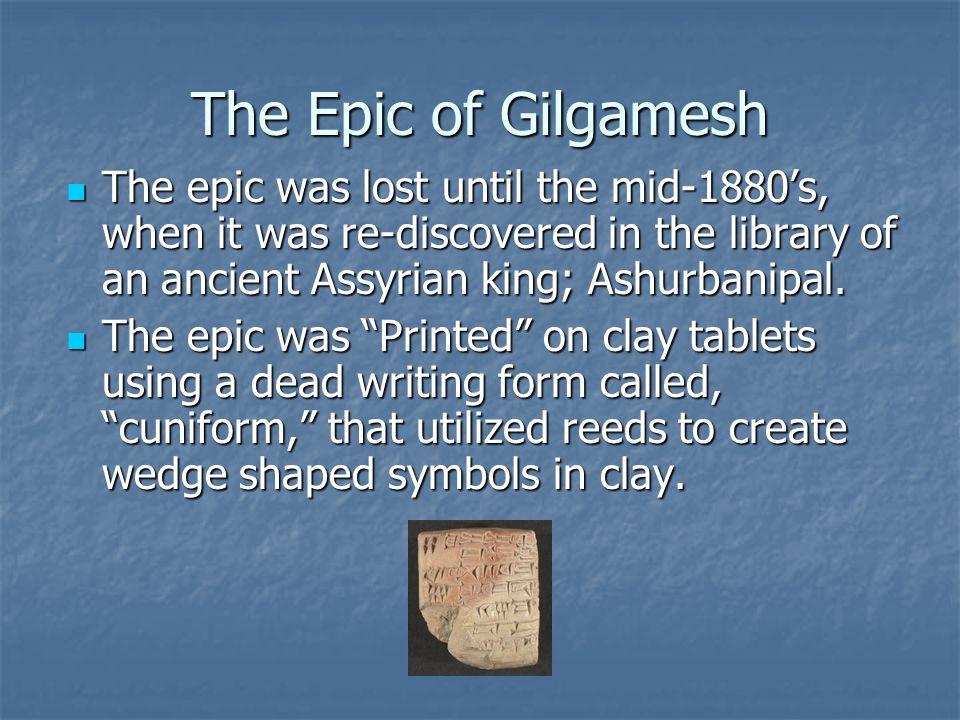 Mesopotamian Epic Bce The Epic Of Gilgamesh Mesopotamian Epic