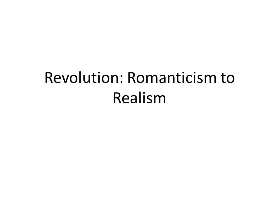 enlightenment vs romanticism Martin d henry (itq, vol 63/3, 1998, 250-62) the enlightenment and romanticism from a theological perspective introduction in a previous article, 1 i suggested how certain aspects of postmodernist thought.