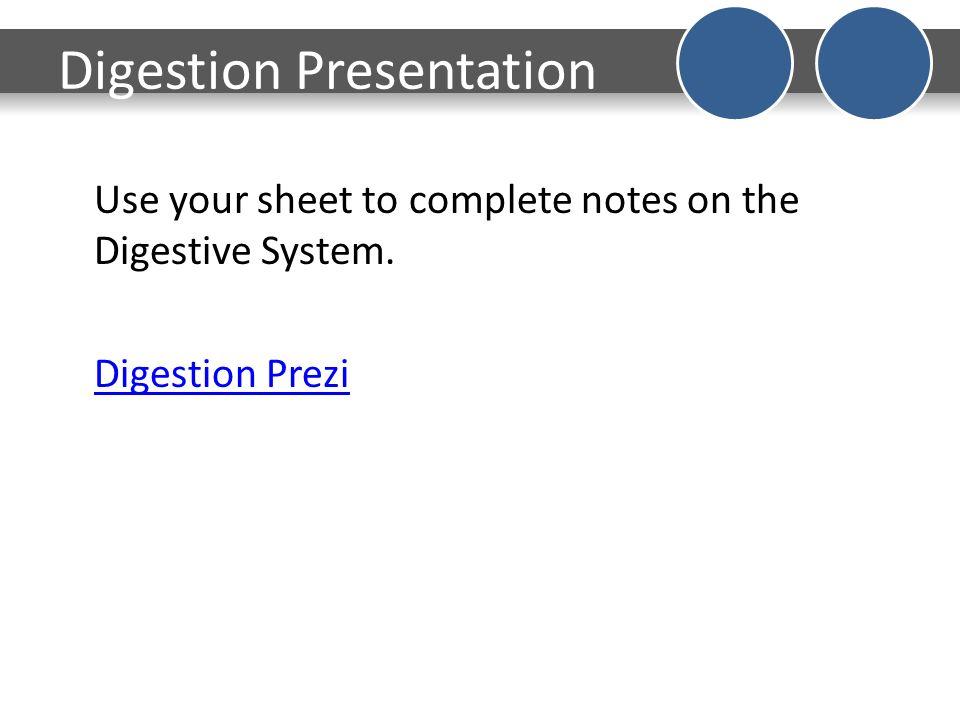 4 Digestion Presentation