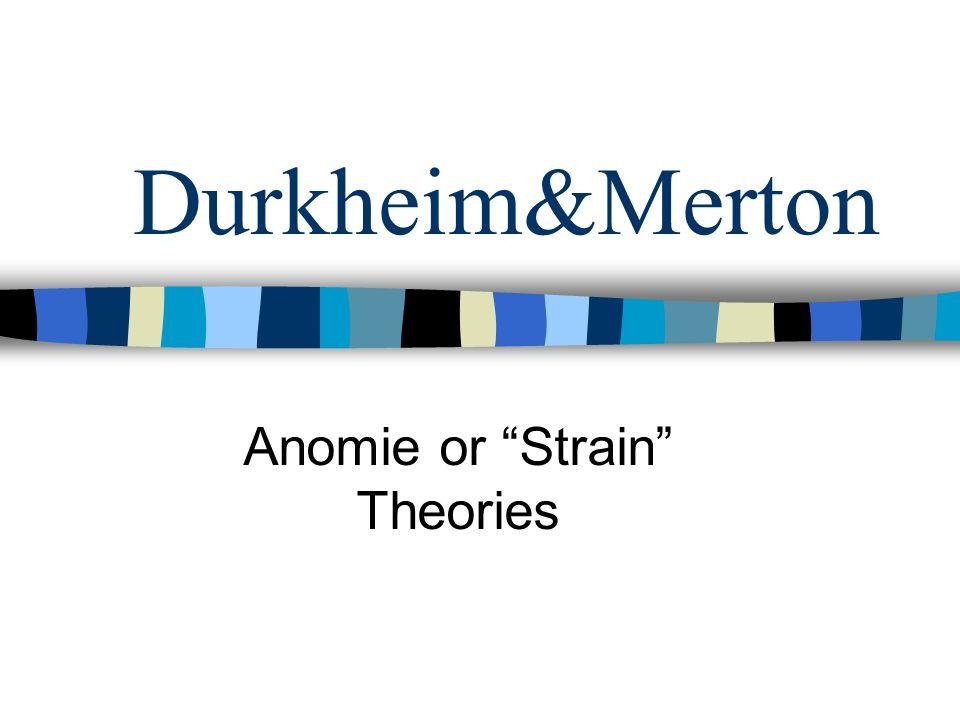 strain theory and terrorism