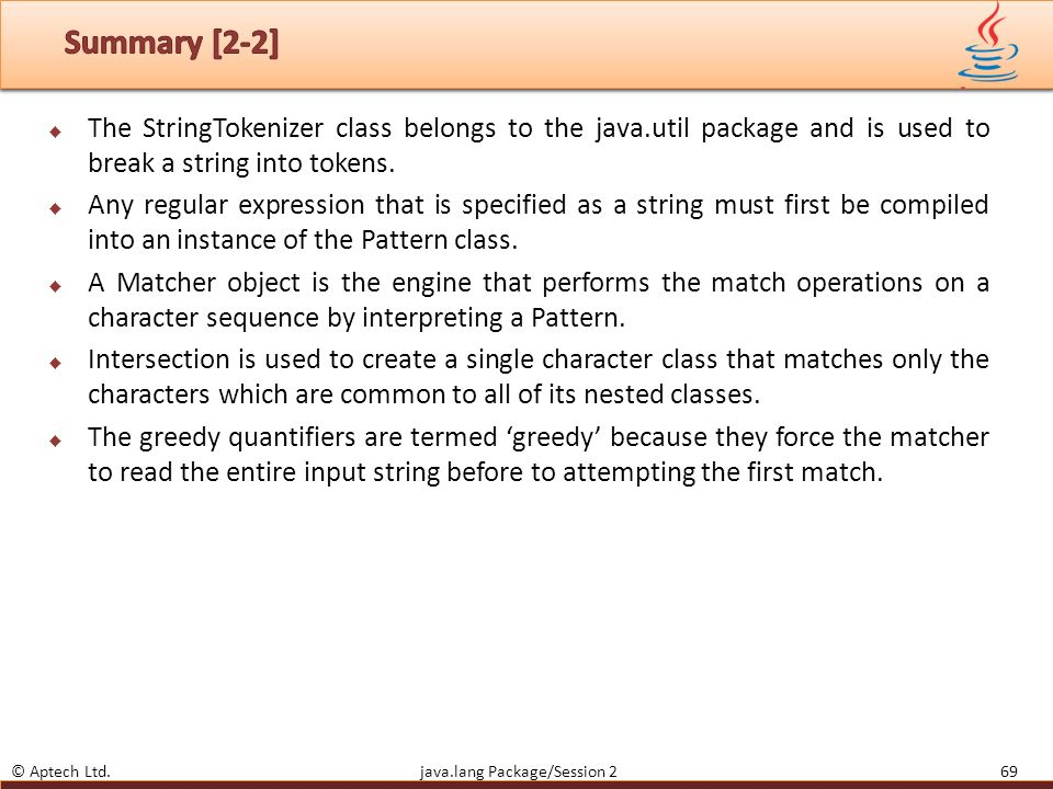 Objectives Describe the java lang package - ppt download
