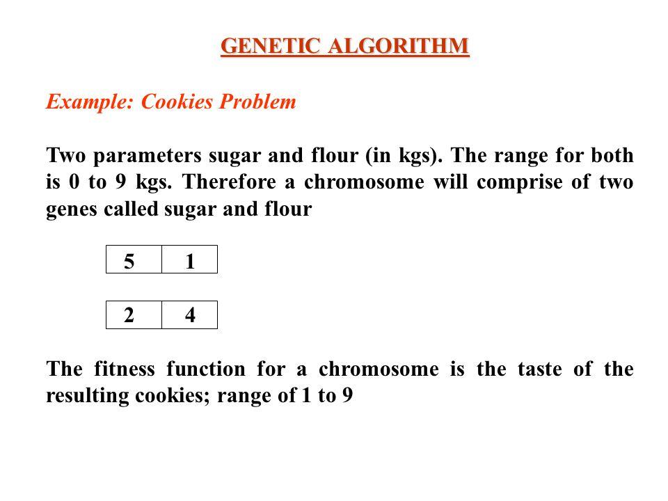 Genetic algorithm example problems.