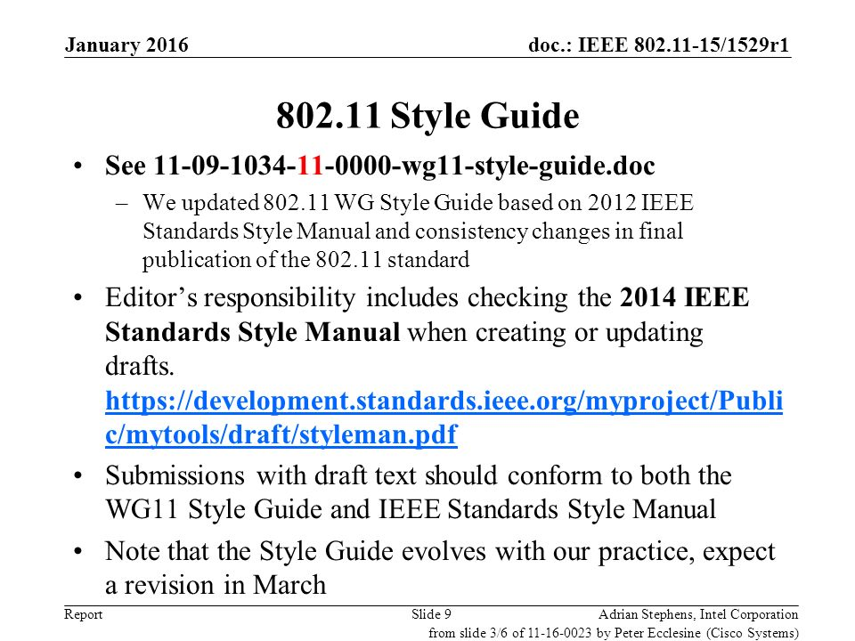 january 2016 closing reports ppt download rh slideplayer com IEEE Logo High Res IEEE 802.1X