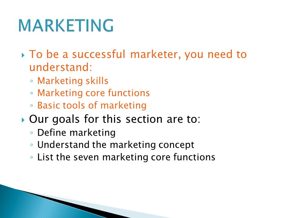 Marketing Is All Around Us - ppt video online download