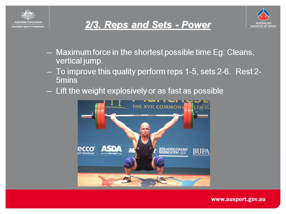 Key Components of Strength and Conditioning Programs - ppt