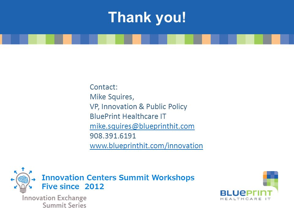 Fall 2015 njdv himss conference ppt video online download contact mike squires vp innovation public policy blueprint healthcare malvernweather Image collections