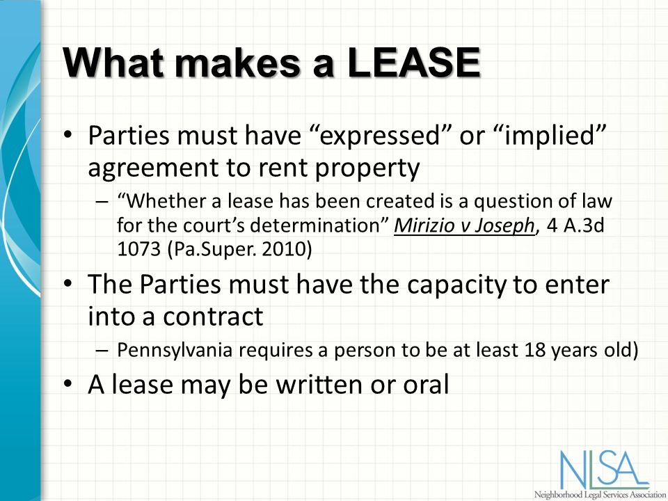 The Basics Of Landlord Tenant Law Ppt Video Online Download