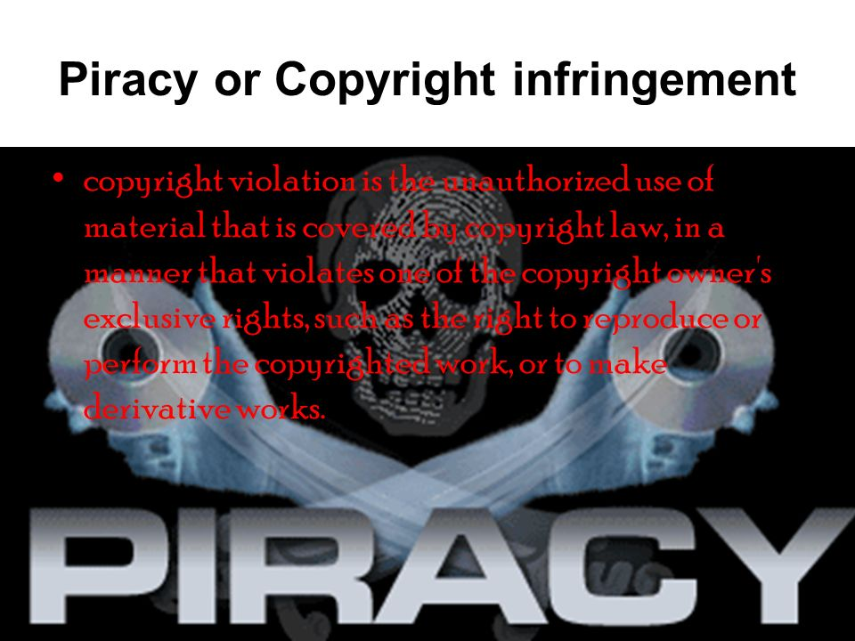 piracy or copyright infringement ppt download Copyright-Infringement Warning piracy or copyright infringement