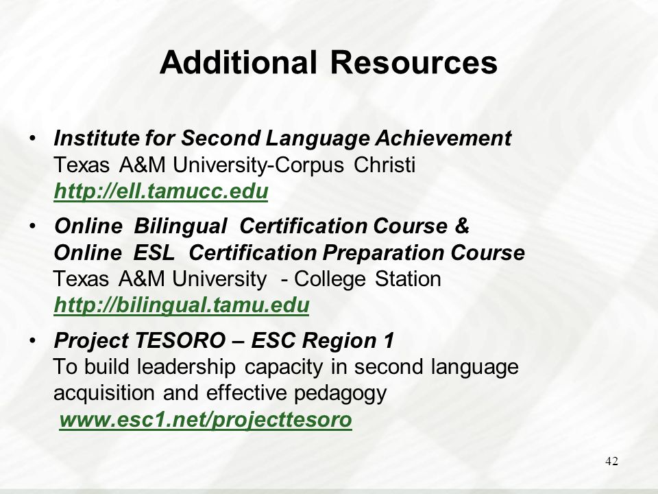 Texas Education Agency - ppt video online download