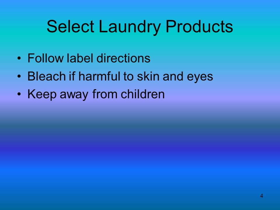 Laundry and Dry Cleaning - ppt download