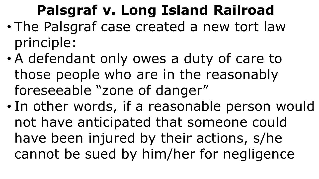 palsgraf vs long island