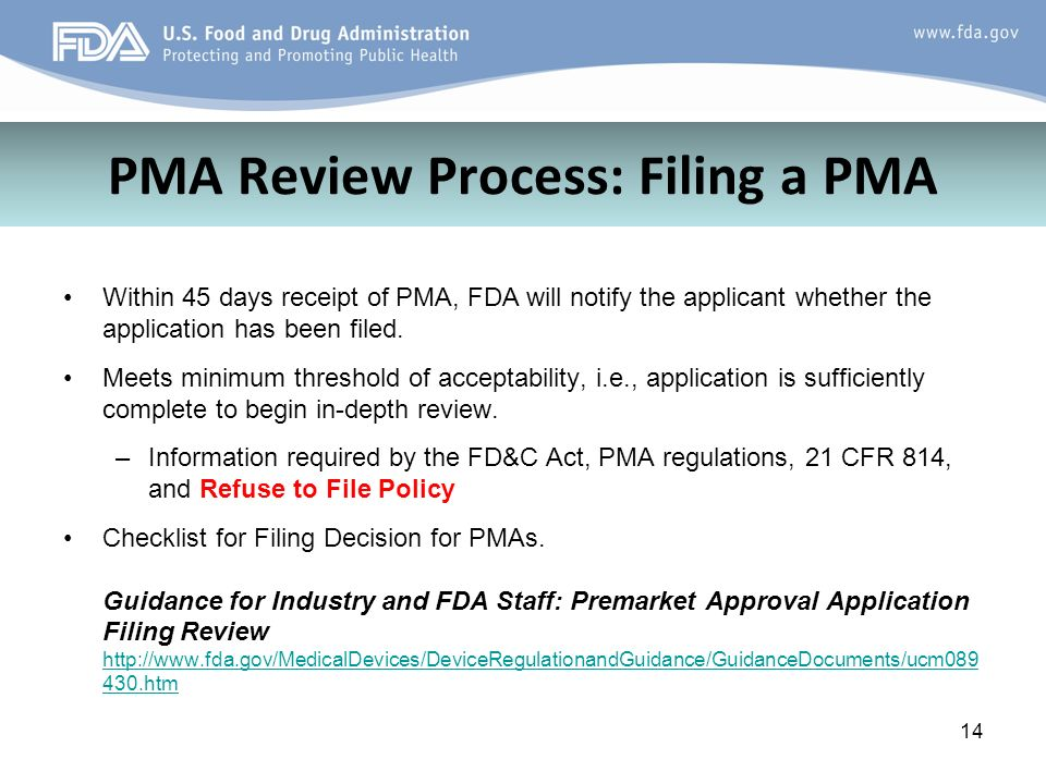 Overview of Premarket Approval (PMA) Program - ppt video