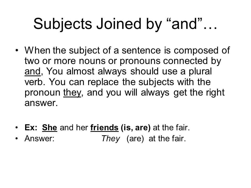 Subject Verb Agreement Rules Ppt Video Online Download