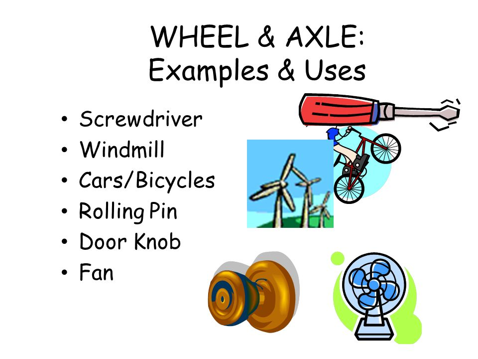Examples Of A Wheel And Axle Image Collections Example Cover