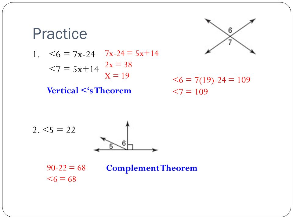 2-8 Proving Angle Relationships - ppt video online download