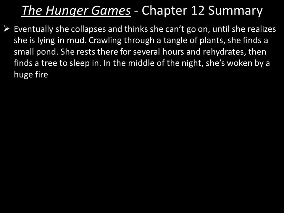 what is the summary of the hunger games