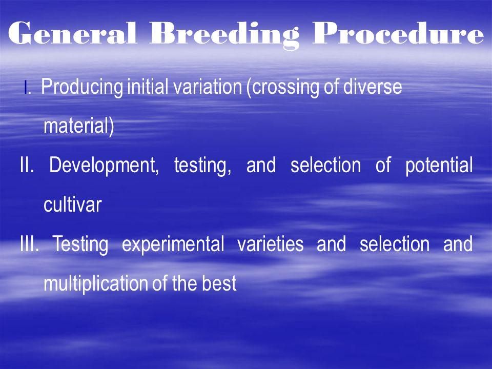 plant breeding steps