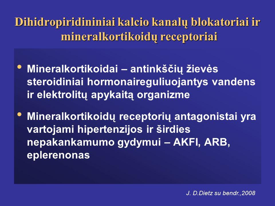 hipertenzijos receptorių antagonistui
