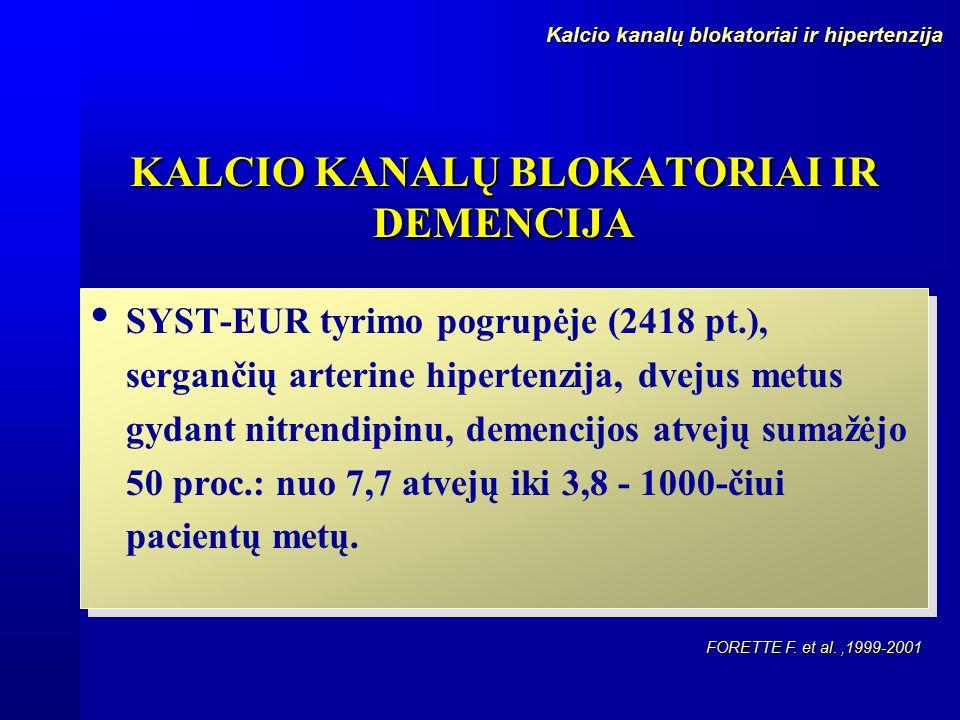hipertenzija kalcio kanalų blokatoriai hipertenzija sergančių pomidorų žala