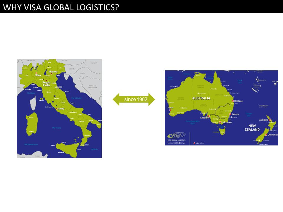 WHY VISA GLOBAL LOGISTICS
