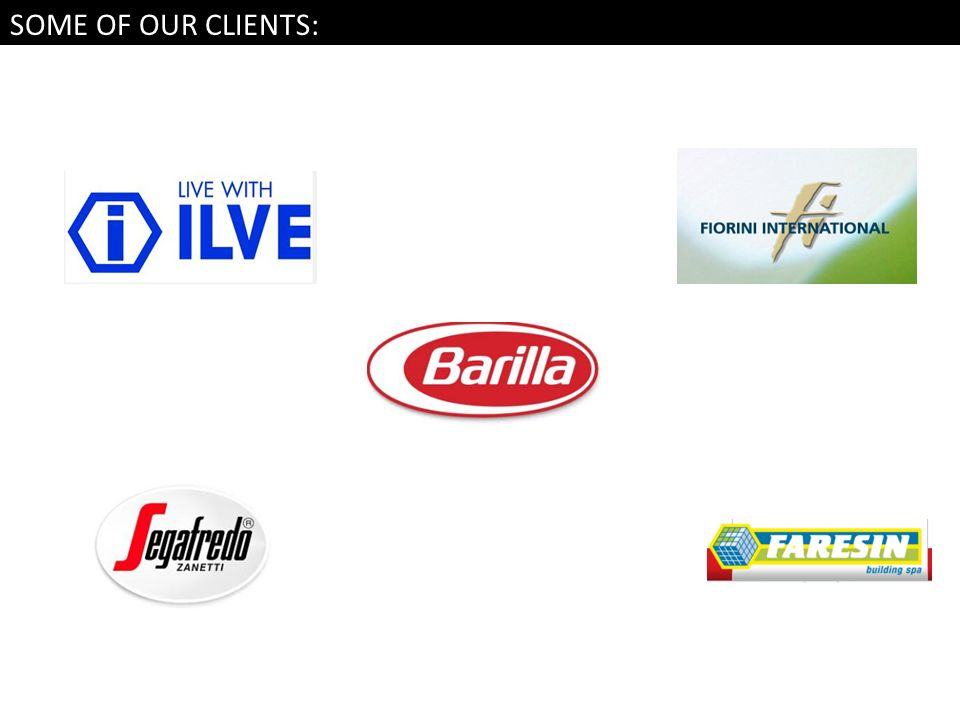 SOME OF OUR CLIENTS: