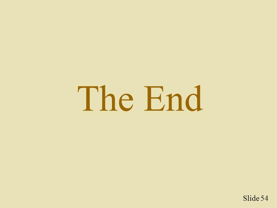 54 the end slide 54