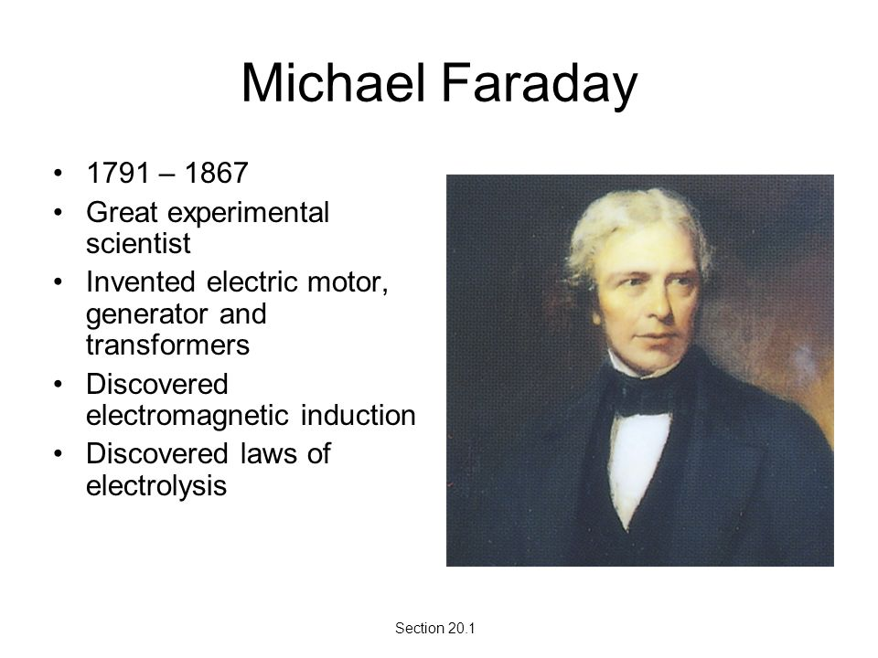 michael faraday transformer experiment
