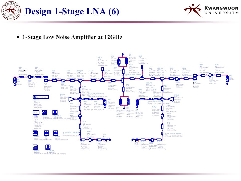 3-Stage Low Noise Amplifier Design at 12Ghz - ppt video online download