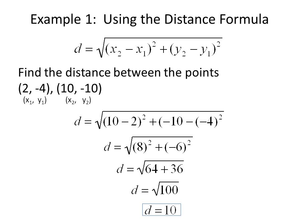 April 17 2012 Midpoint And Distance Formulas Ppt Video Online