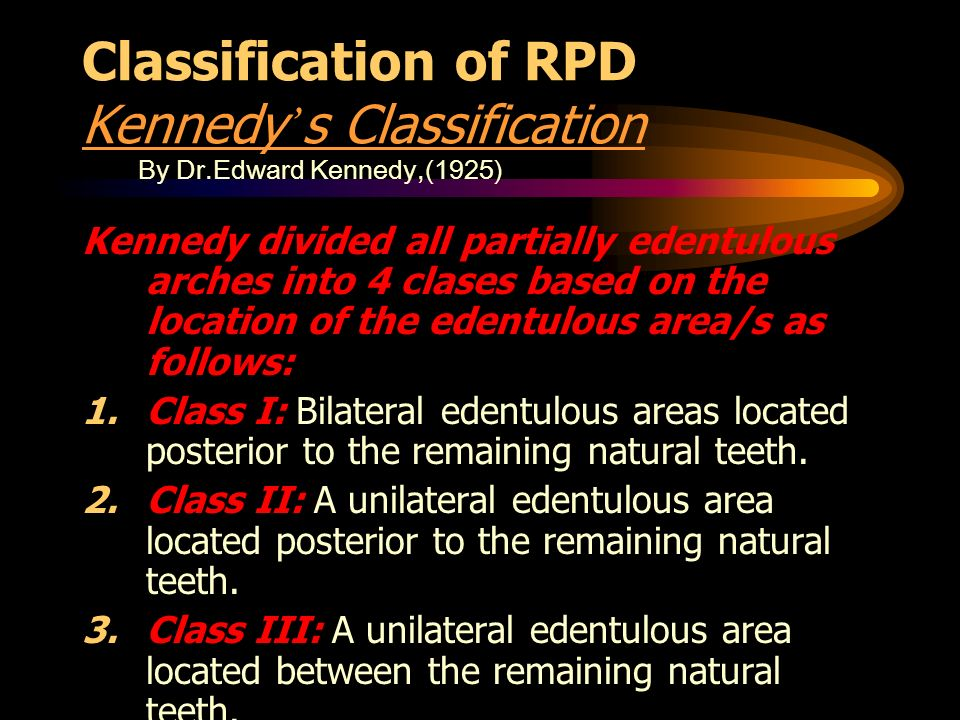 Removable partial denture - ppt video online download