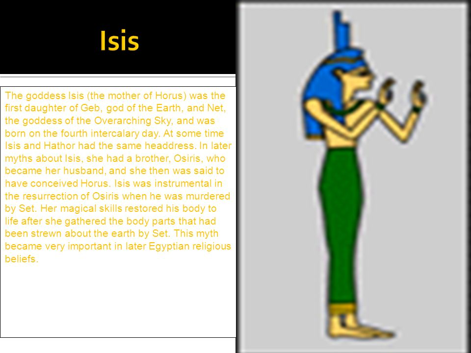 By Emily Cha Egyptian God Ppt Video Online Download