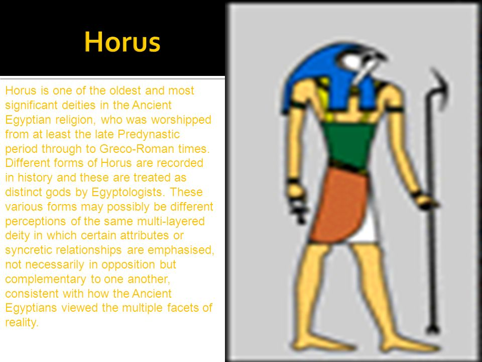 horus is the egyptian god of what