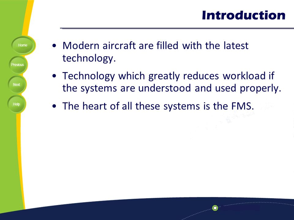 Lecture 11: Flight Management System (FMS) - ppt video online download