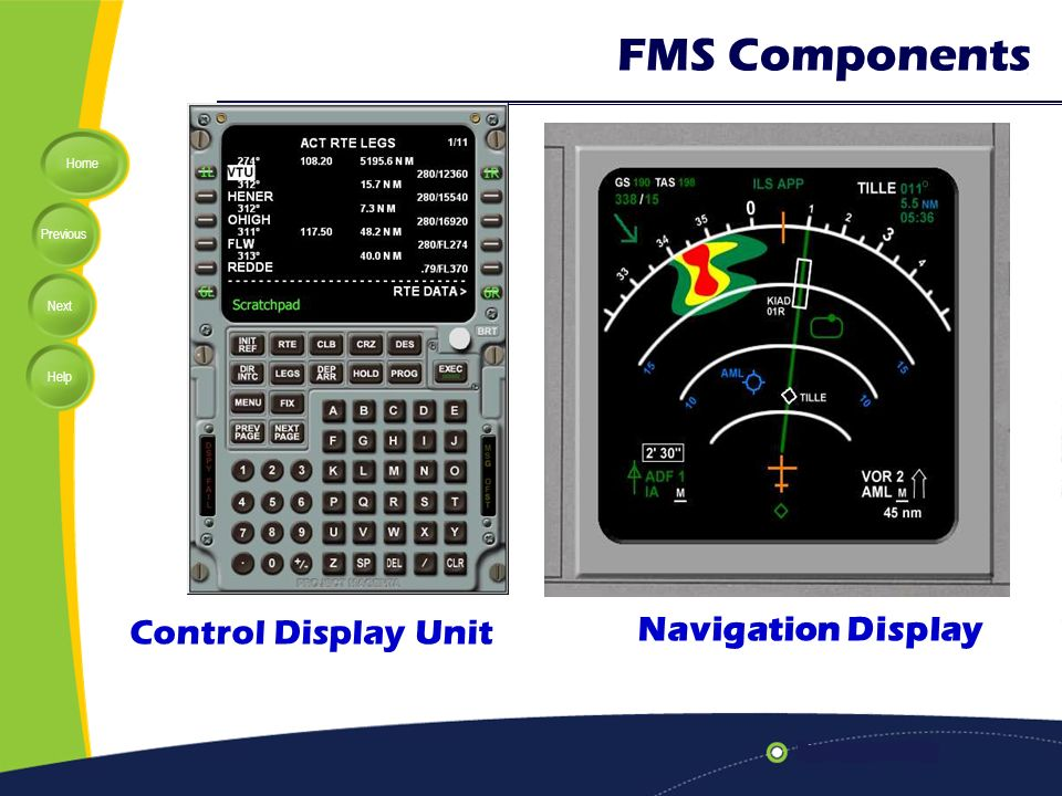 Lecture 11: Flight Management System (FMS) - ppt video