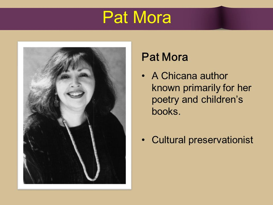 interesting facts about pat mora