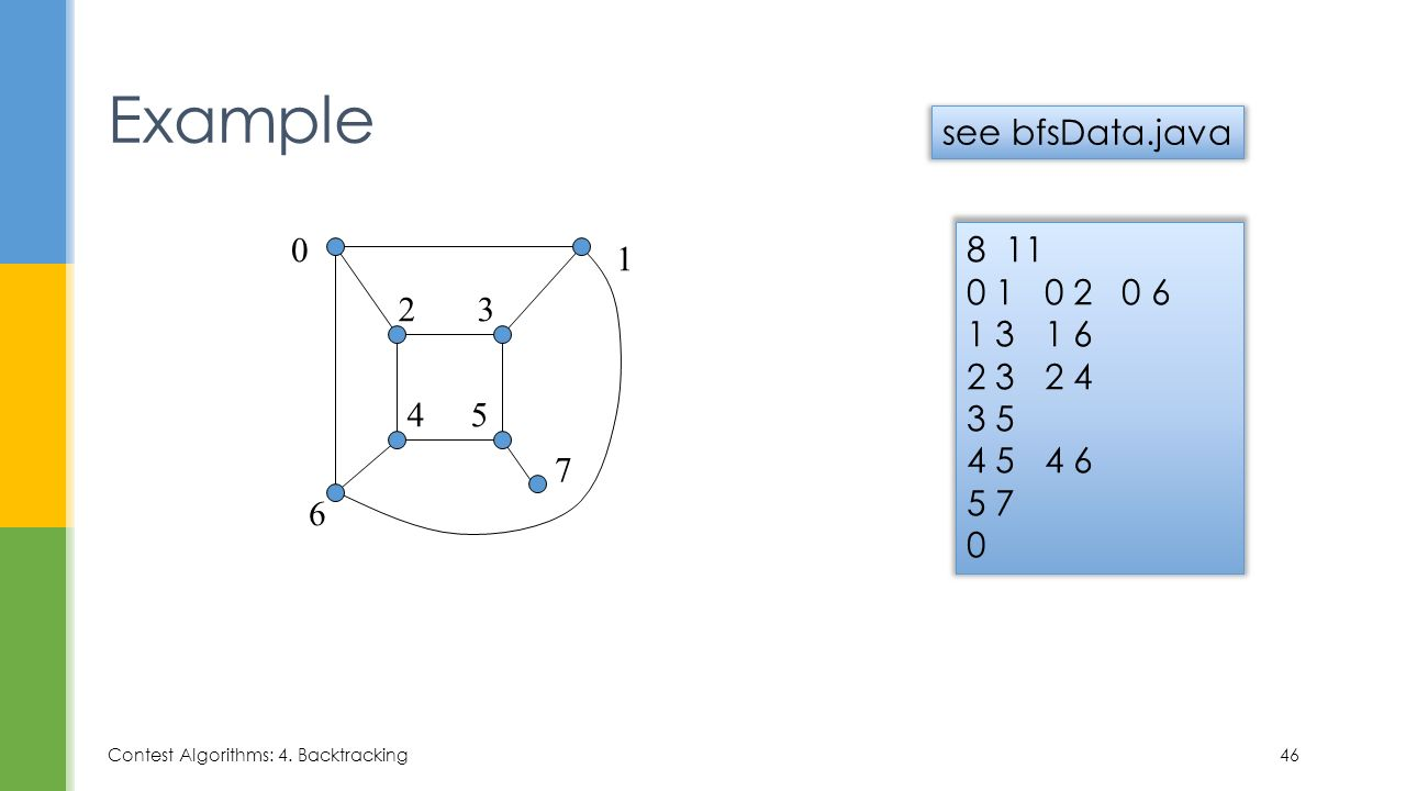 7  Graph Traversal Describe and compare depth-first and