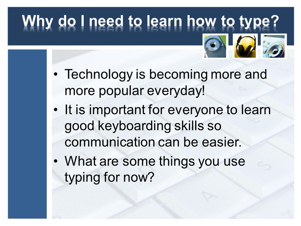 A Biased View of Learn To Type