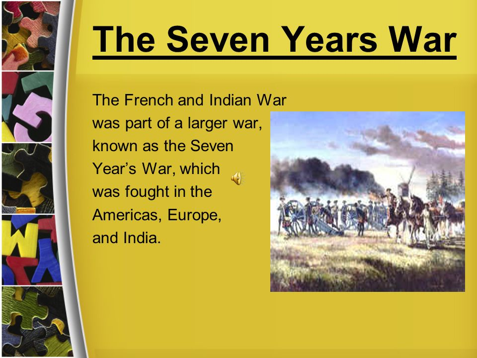 an introduction to the french and indian war French indian war summary: culminating in the french indian war, also known as the seven years' war, or sometimes the great war for the empire, tensions had their beginning in 1689 the english and the french had battled for ownership of north america for years it finally culminated in a war.