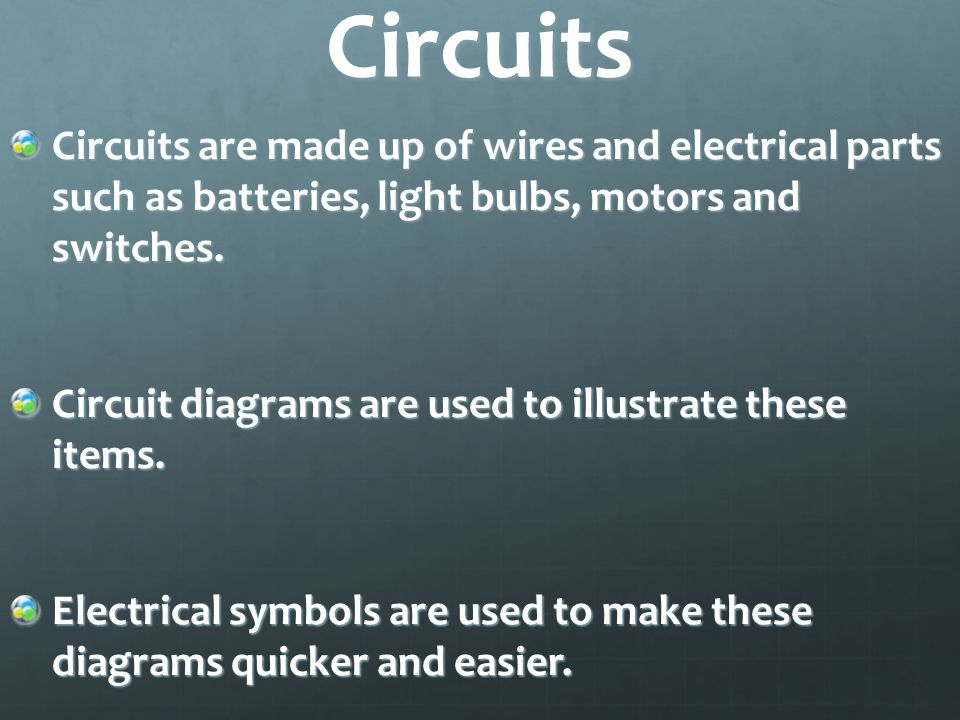 electric circuits 7th grade science