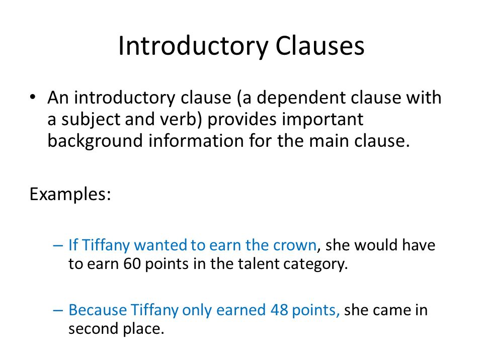 Commas And Introductory Elements Ppt Video Online Download