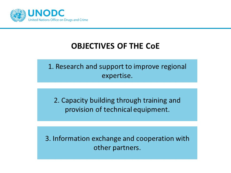 1. Research and support to improve regional expertise.