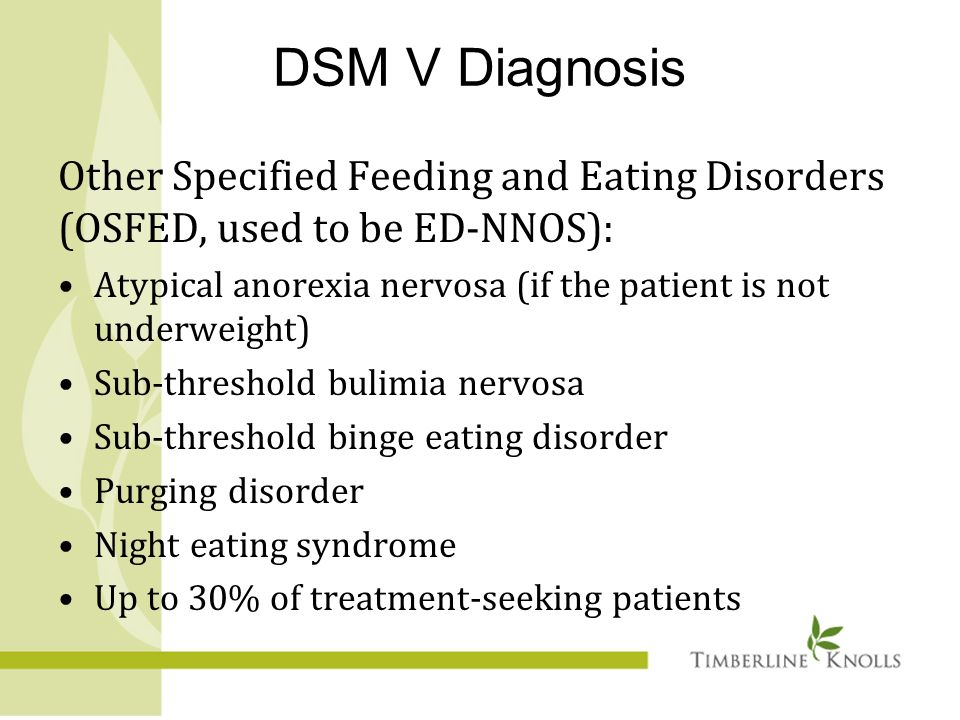 compare and contrast eating disorders Ce activity comparison of dsm-iv versus proposed dsm-5 diagnostic criteria for eating disorders: reduction of eating disorder not otherwise specified and.