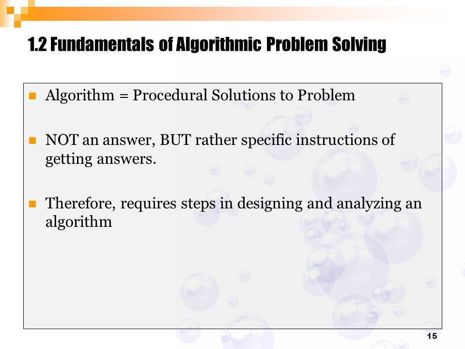 introduction to design and analysis algorithm ppt video online rh slideplayer com Textbook Solution Manuals fundamentals of algorithmics solutions manual