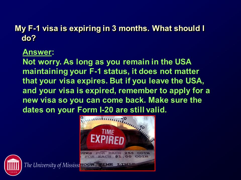 Essential Immigration Information for F-1 students - ppt video