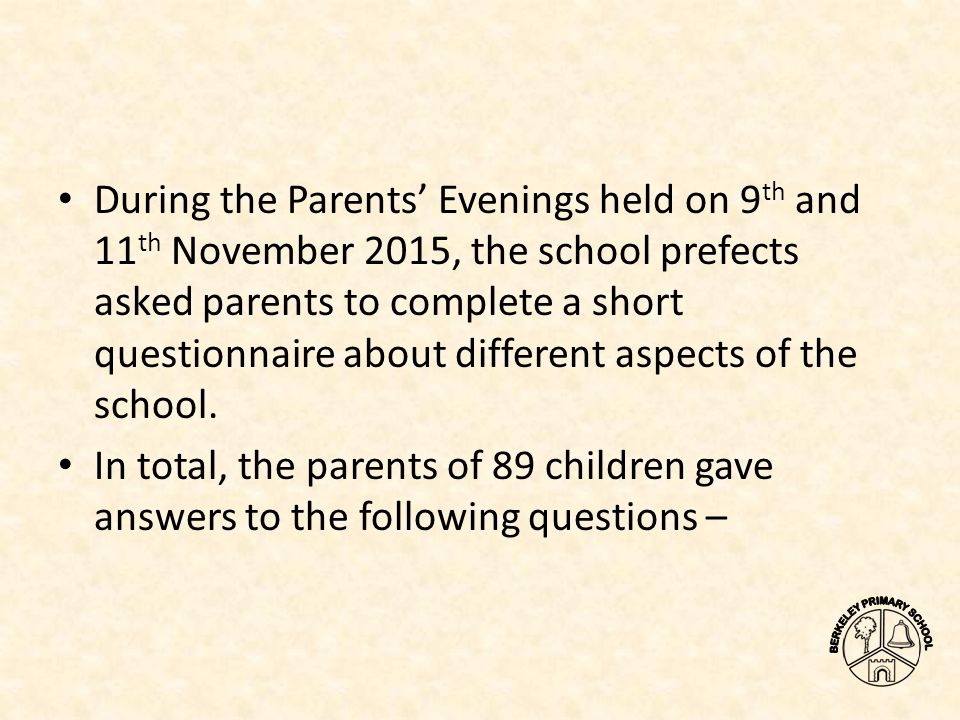 questions asked at a school prefect interview