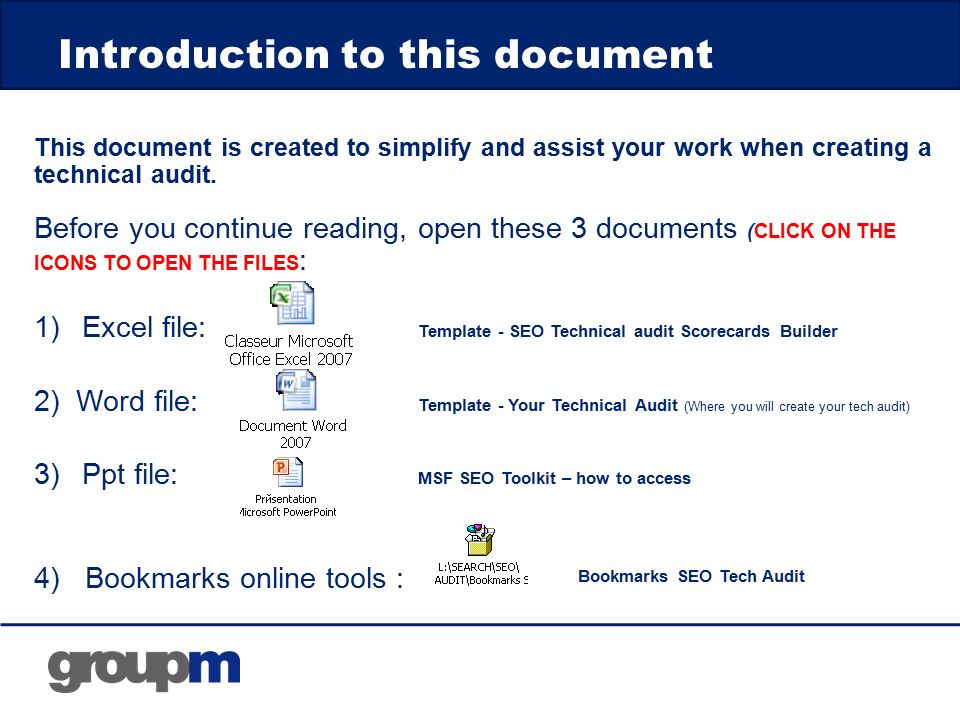 How to create a technical SEO audit GroupM Search EMEA - ppt download