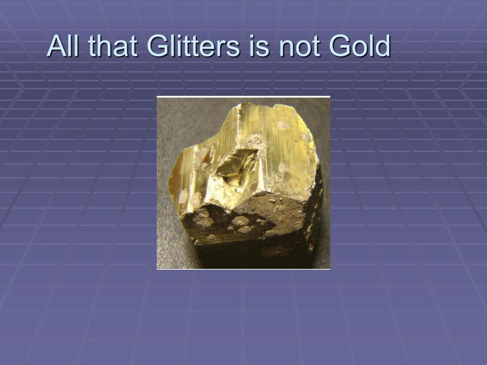 all that glitters are not gold proverb expansion